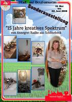 Plakat - 15 Jahre kreatives Spektrum