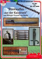 Plakat - Blankwaffen aus der Kaiserzeit
