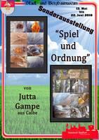 Plakat - Spiel und Ordnung