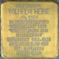 Stolperstein für Wilhelm Heine