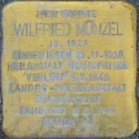 Stolperstein für Wilfried Münzel