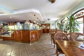 Café im Hotel Burgas