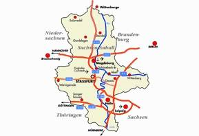 Verkehrsinfrastruktur Sachsen-Anhalt