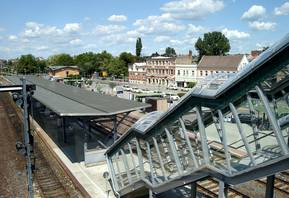 Bahnhof - Busbahnhof