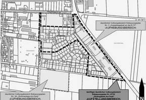 Lageplan Wohngebiet