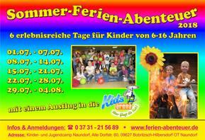 Sommer-Ferien-Abenteuer