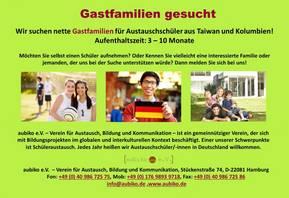 Gastfamiliensuche [(c) aubiko e.V. – Verein für Austausch, Bildung und Kommunikation]