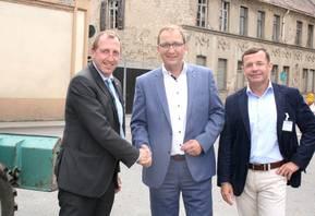 Beginn des Breitbandausbaus in Förderstedt