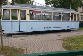 Straßenbahnwagen TW20 [(c) Staßfurter Geschichtsverein]