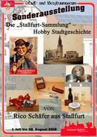 Plakat - Die 'Staßfurt-Sammlung' – Hobby Stadtgeschichte