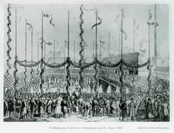 Eröffnung des Staßfurter Salzbergbaus am 31. Januar 1852