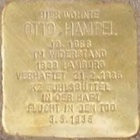 Stolperstein für Otto Hampel