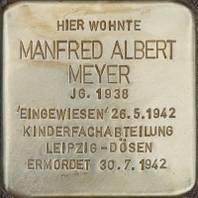 Stolperstein für Manfred Meyer
