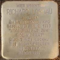 Stolperstein für Richard Lohdau