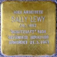 Stolperstein für Sally Lewy