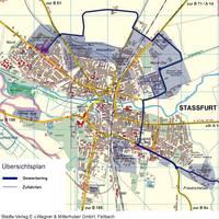 Gewerbering Stadtplan