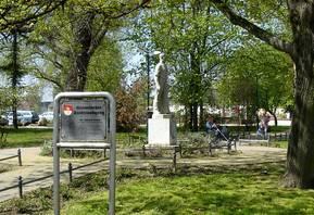 Bergmannsdenkmal im Kaligarten