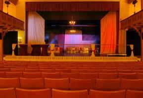 Saal im Salzlandtheater