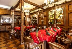 Restaurant im Hotel Burgas